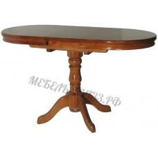 Стол 1-балясный с обкладом и механизмом
